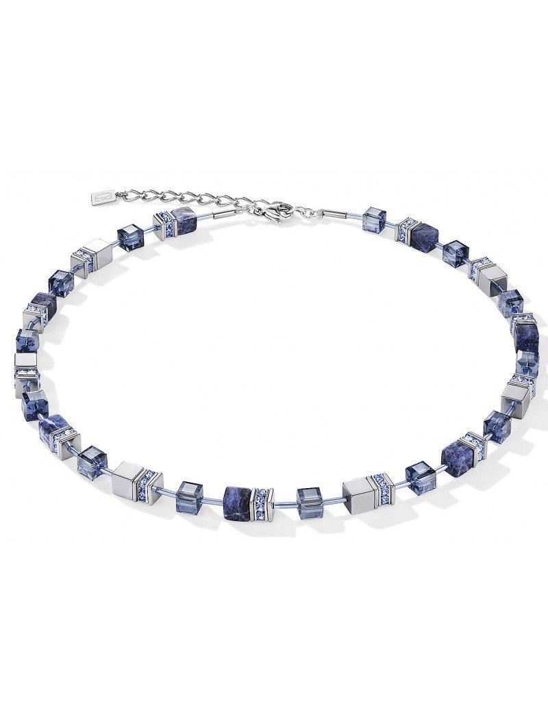 Coeur de Lion Precious Necklace  - Blue Sodalite & Hematite