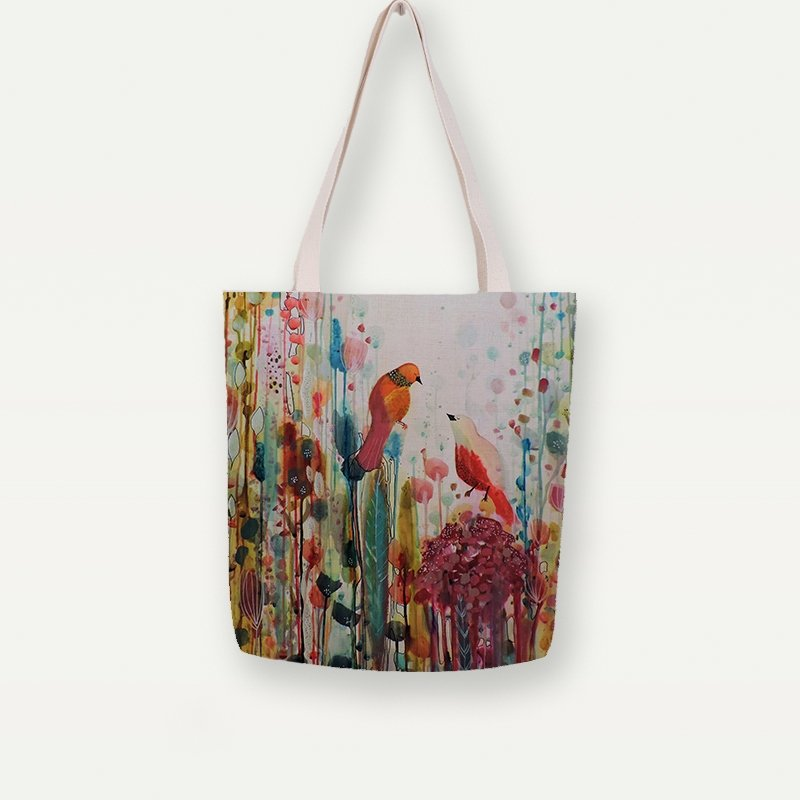 Still And Silent Tote Bag- The Romance