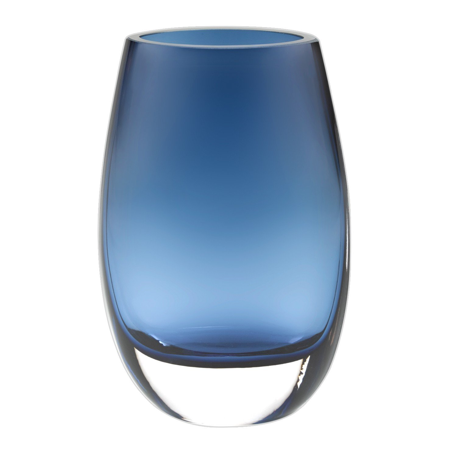 Badash Crescendo Vase - Midnight Blue