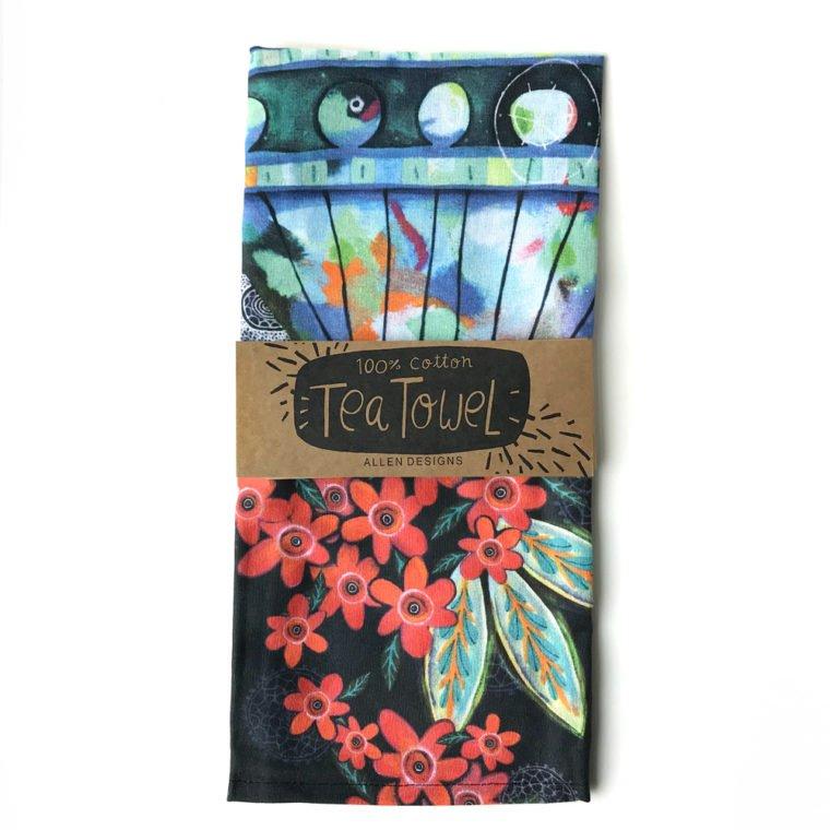 ALLEN FLOWERBLAST TOWEL