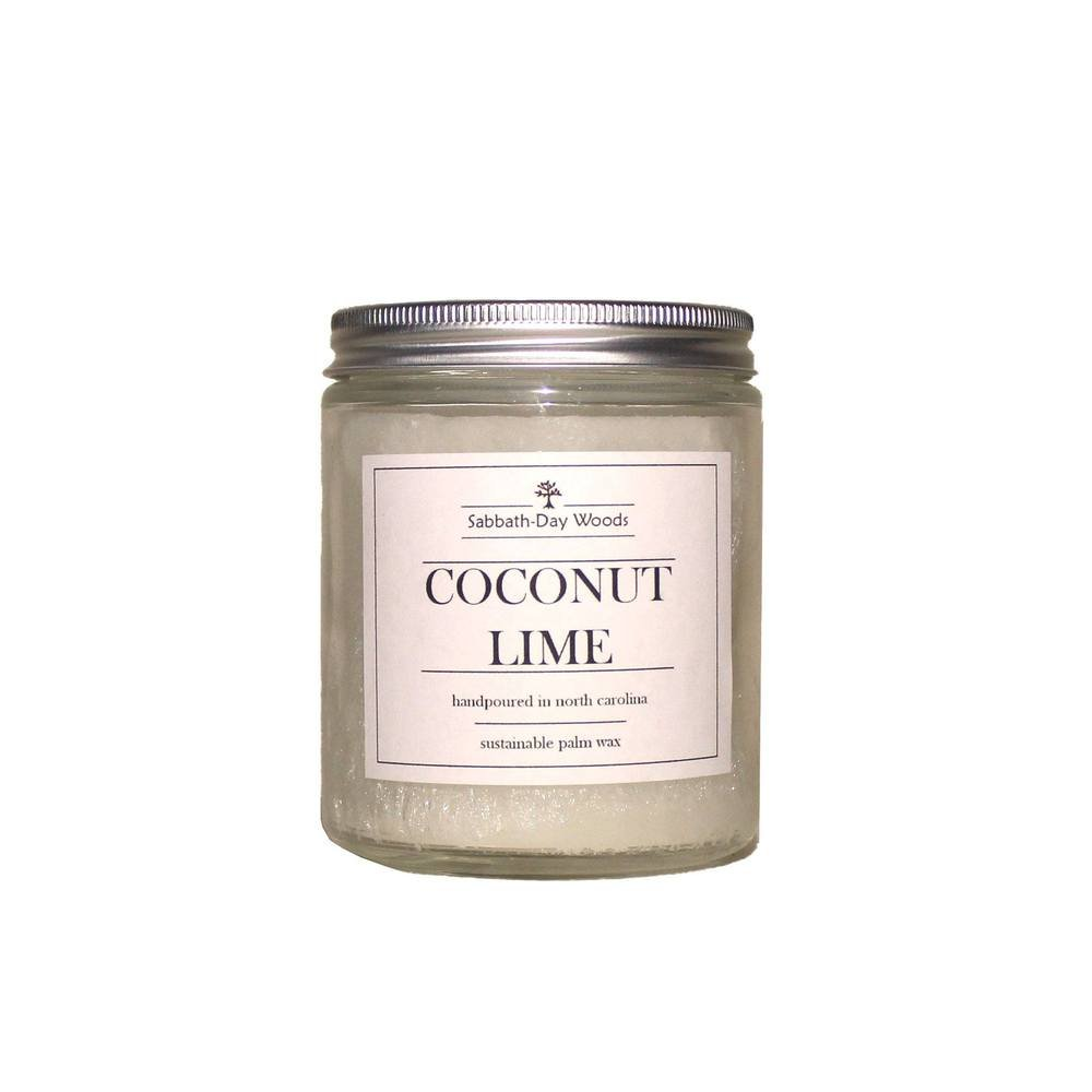 Sabbath Day Candle Coconut Lime