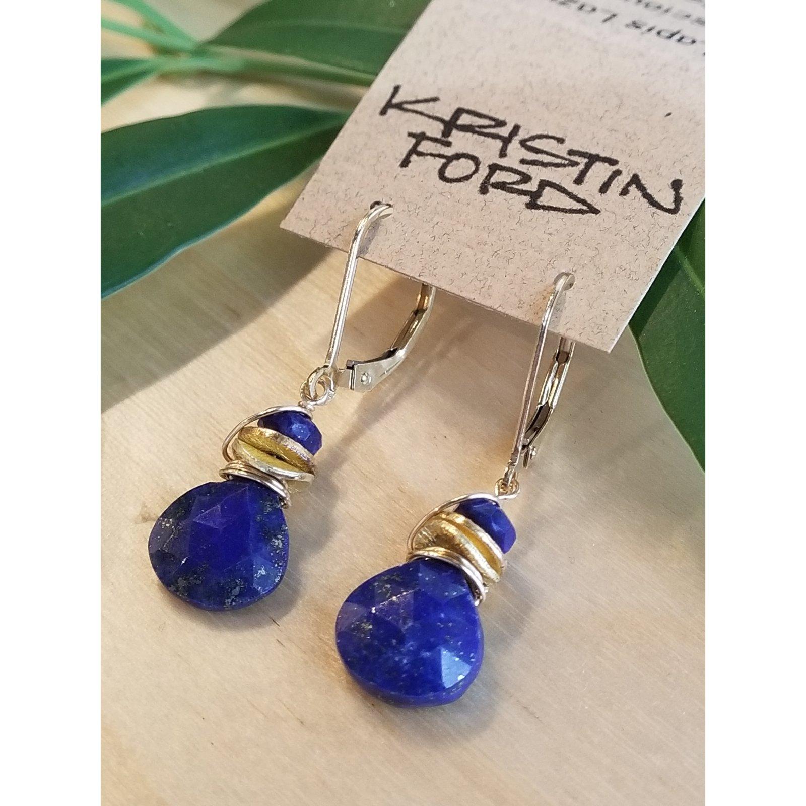 Kristin Ford Lapis Earrings