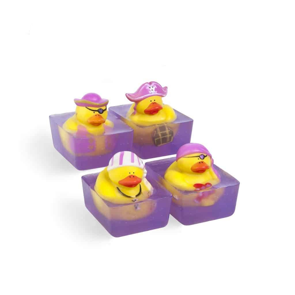 Toy Duck Soap - Pink Pirate