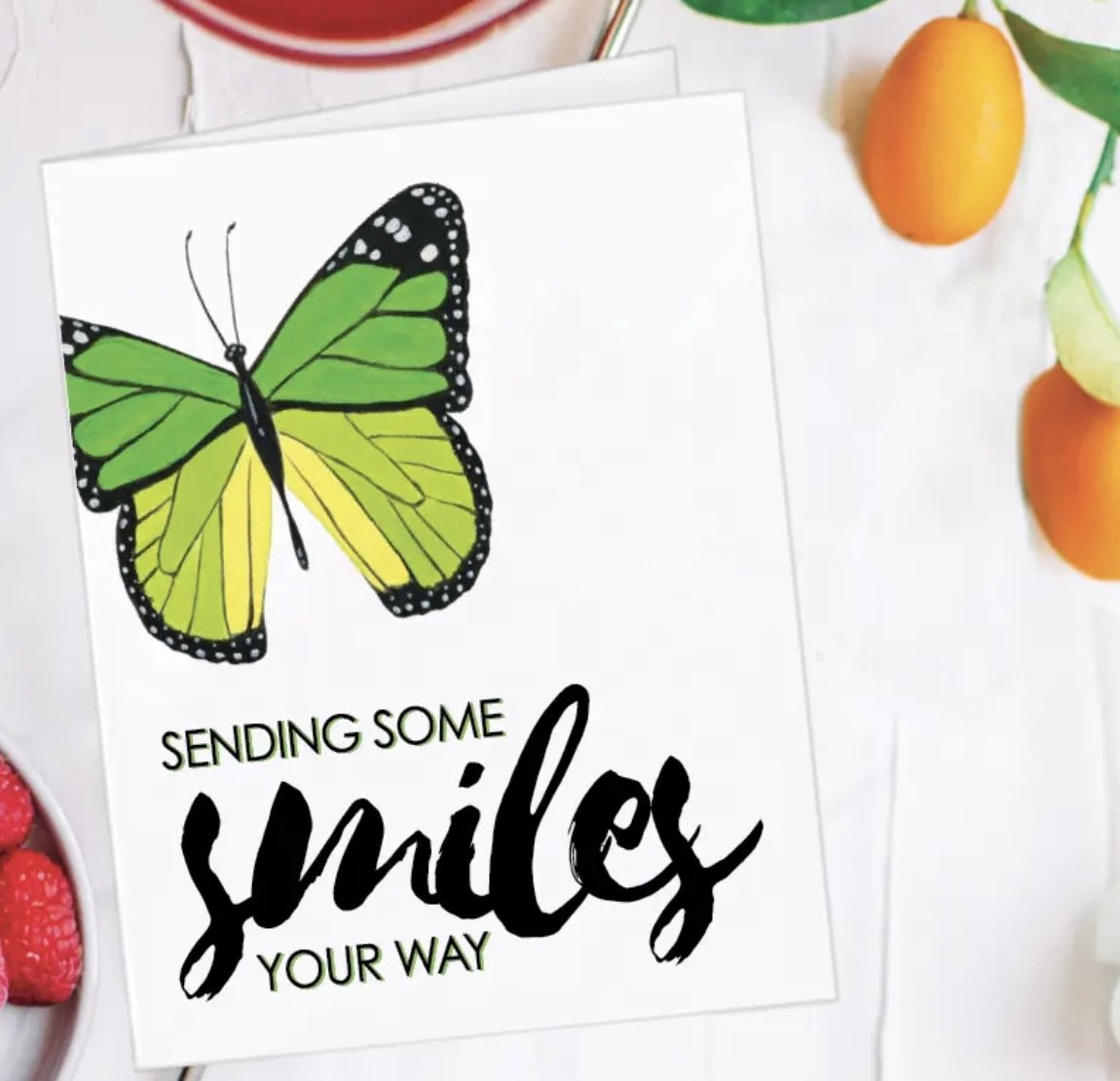 Printed Canvas Butterfly