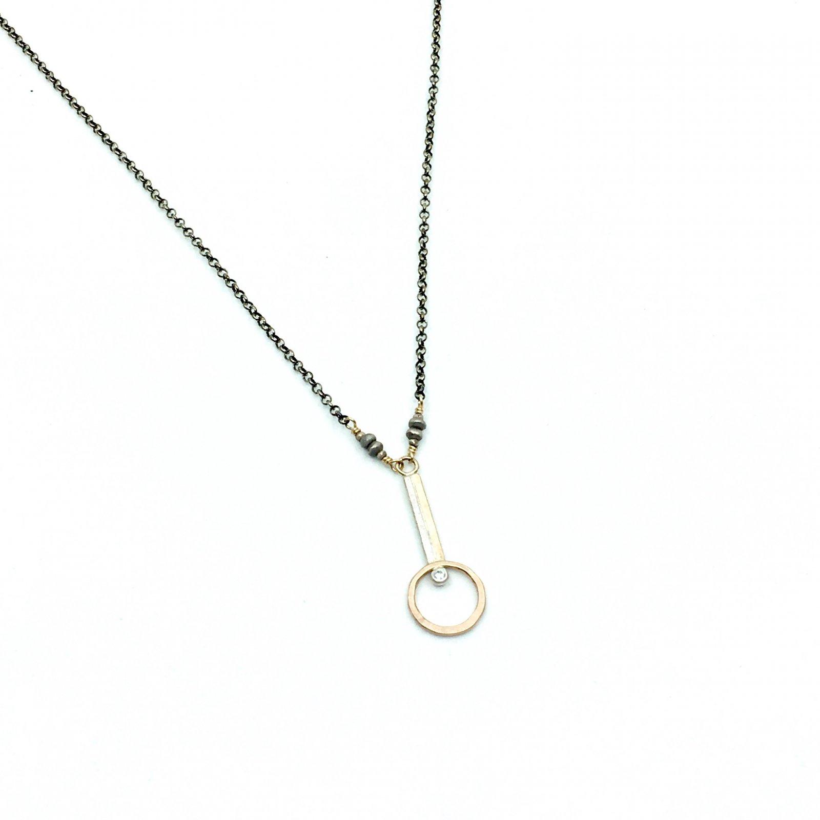 J&I Simple Drop Necklace