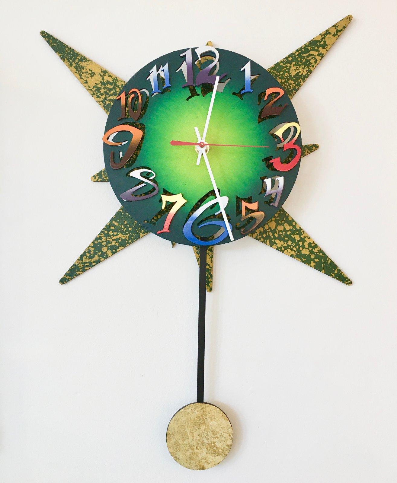 Scherer Green Clock