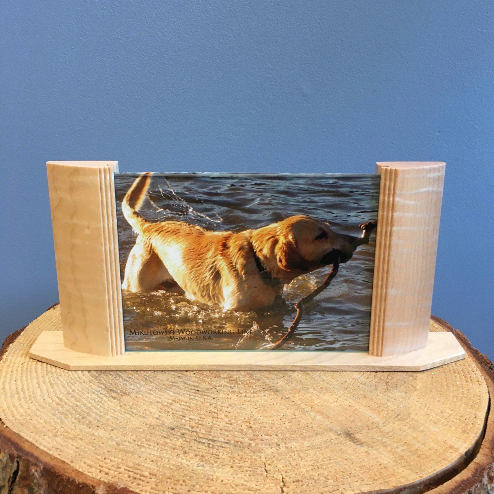 Mikutowski 5x7 Wood Frame - Curly Maple