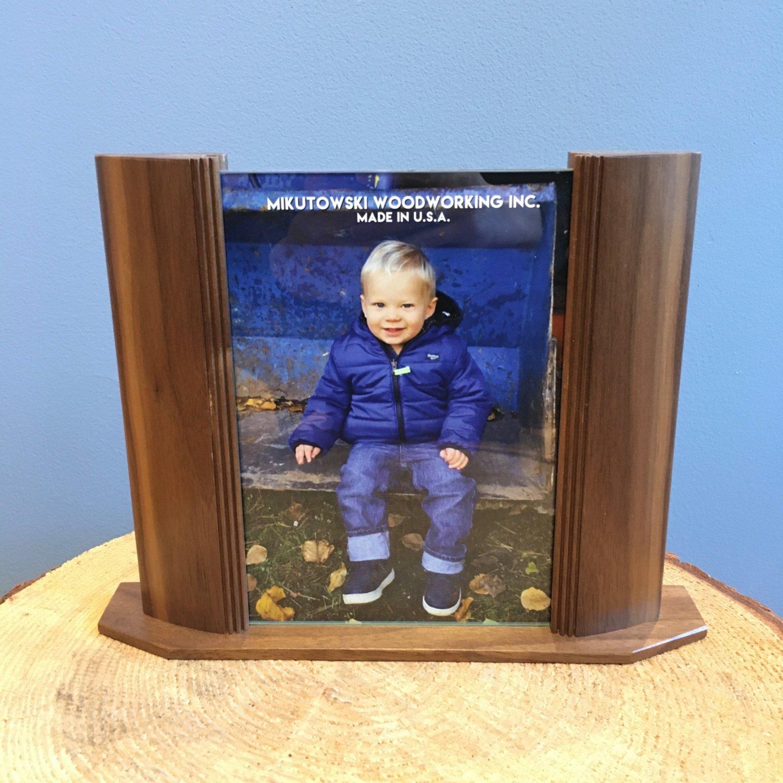 Mikutowski 5x7 Wood Frame - Walnut