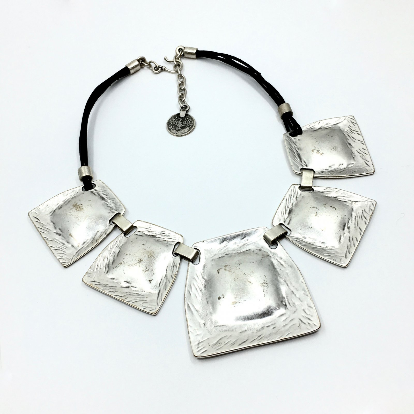 Chanour Pewter Necklace
