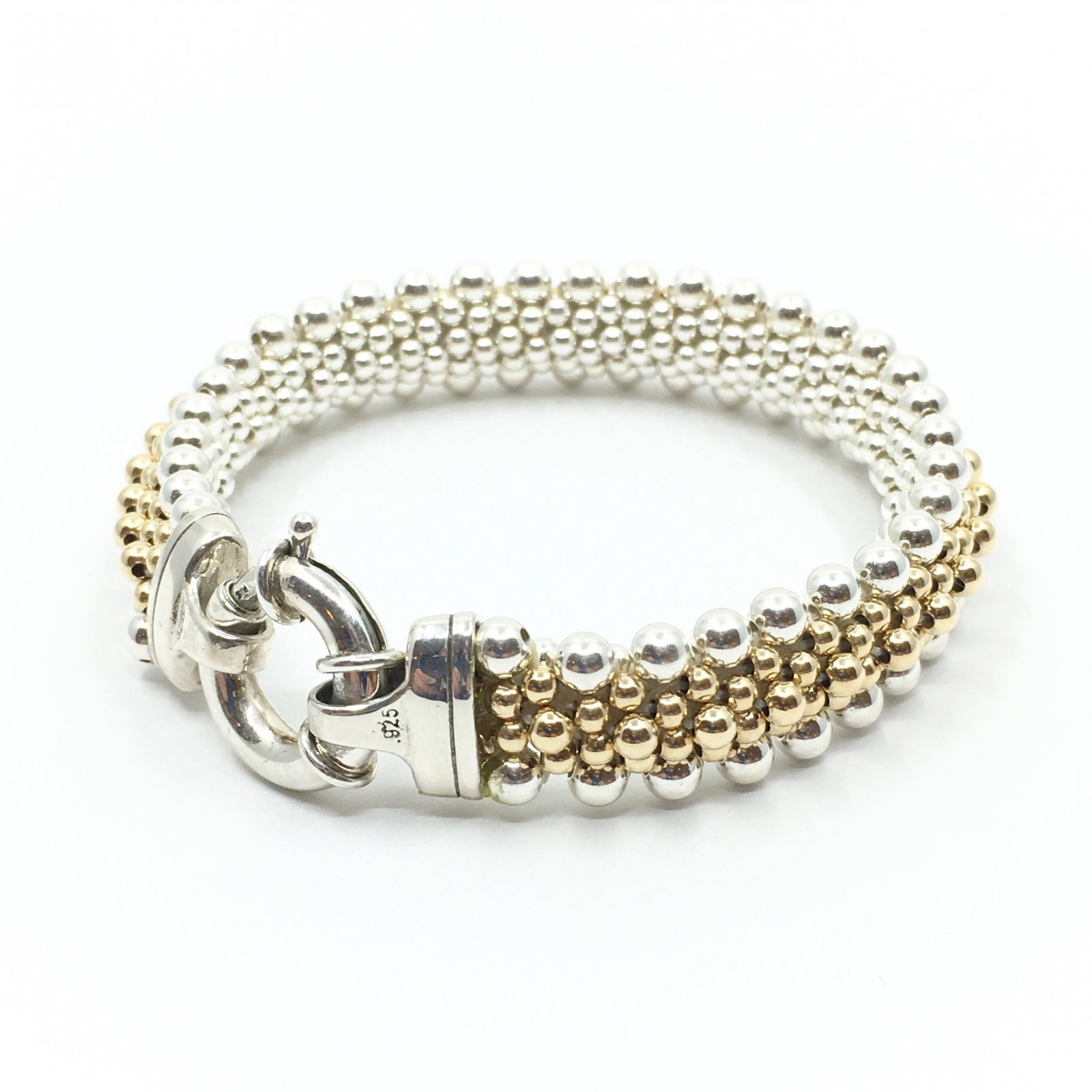 Dovera Grand Classic with Silver Spine Bracelet