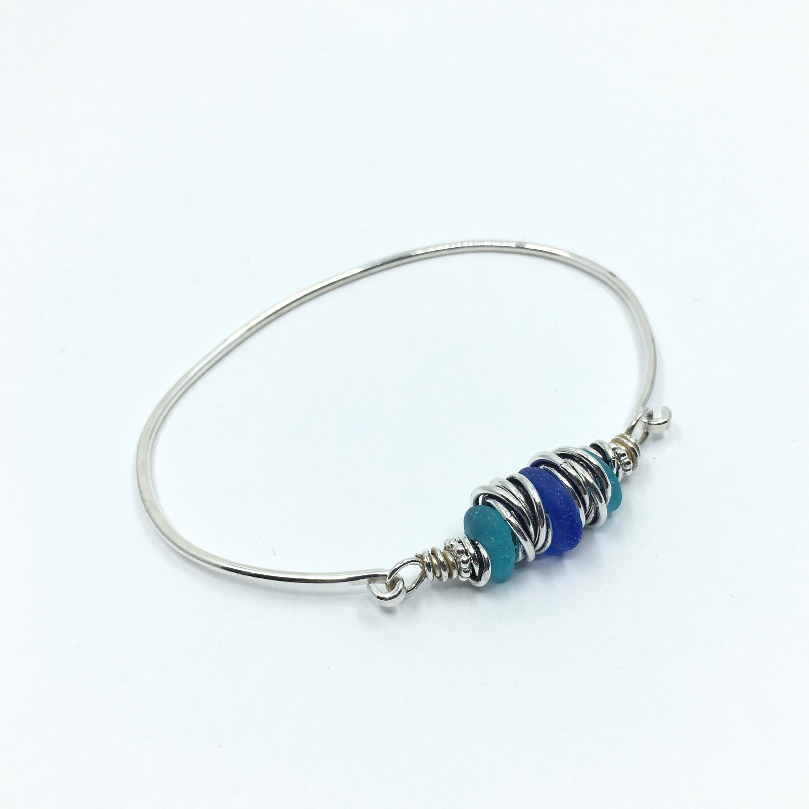 Carolyn Roche Sea Glass Bracelet