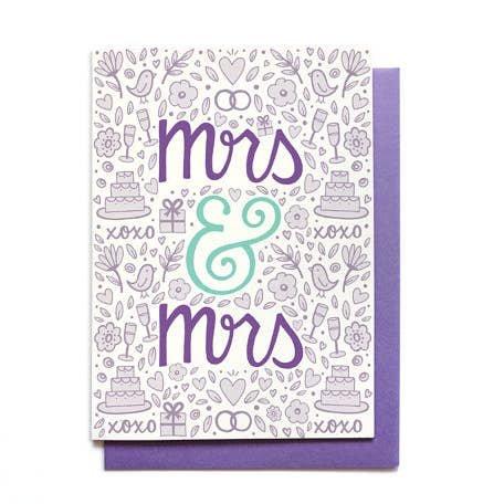 HENNEL WEDDING CARD