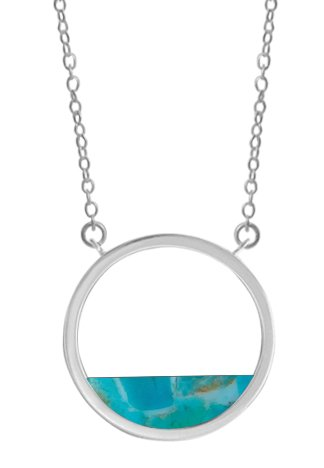 BOMA RESIN AND STERLING NECKLACE
