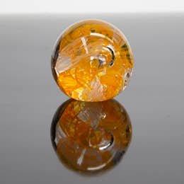 Epiphany Paperweight Circle of Life Orange