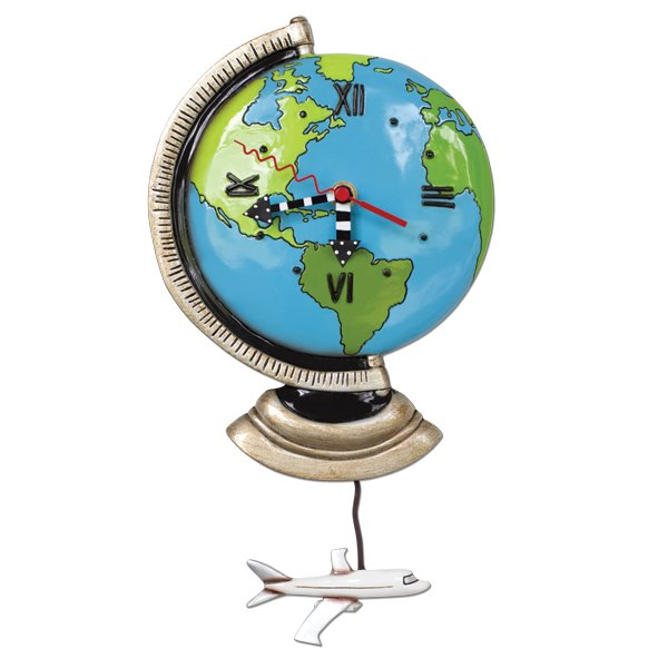 Allen Globe Clock