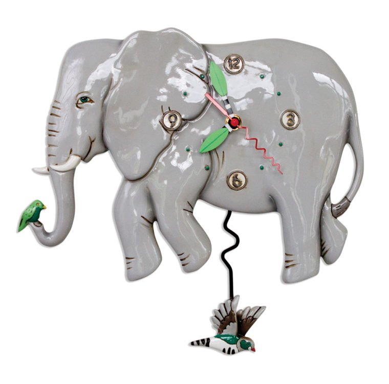 ALLEN ELEPHANT CLOCK
