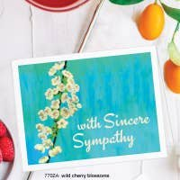 Printed Canvas Sympathy Blossoms