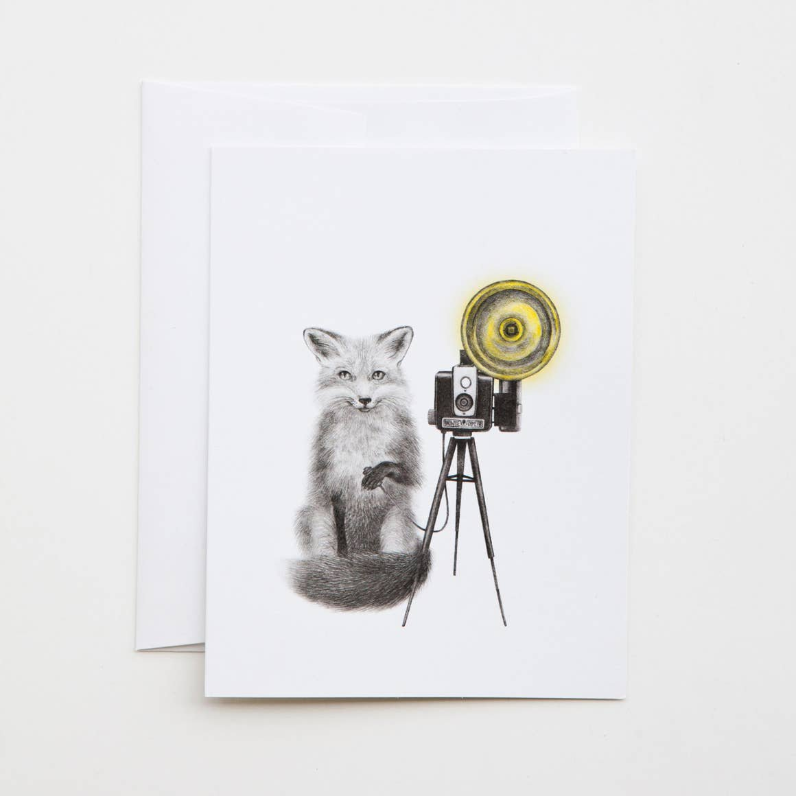 LECANOTROUGE RED FOX CARD