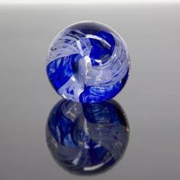 Epiphany Paperweight Circle of Life Royal Blue