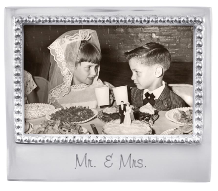 Mariposa Frame - Mr&Mrs 4x6