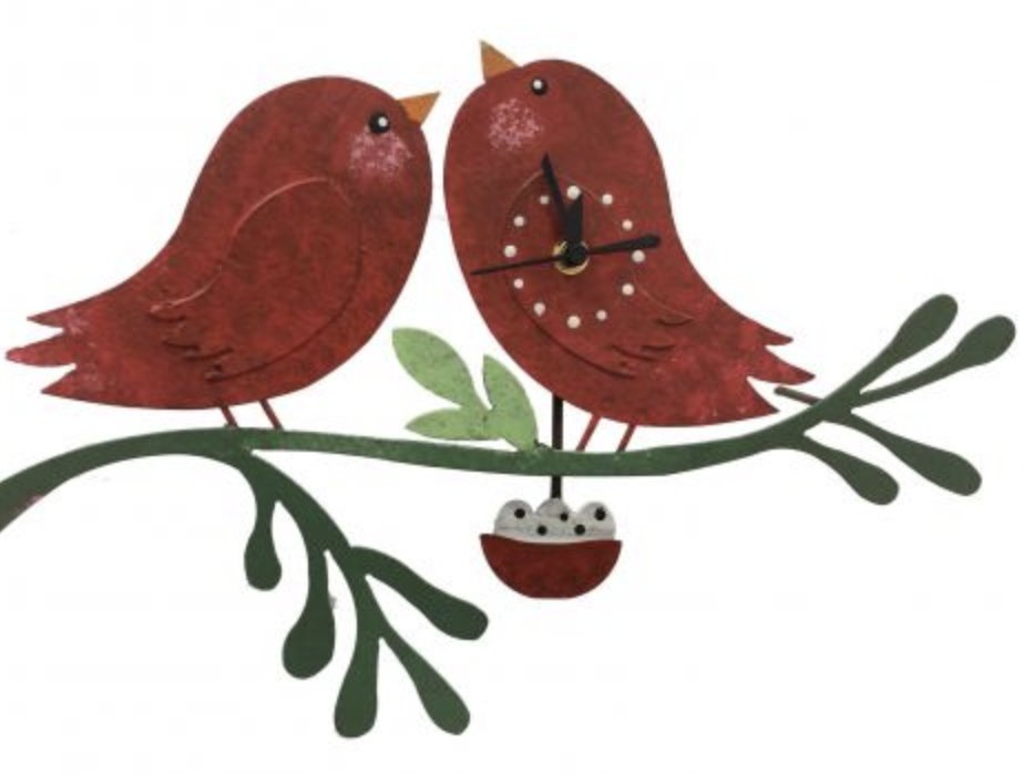 OXIDOS BIRDS CLOCK