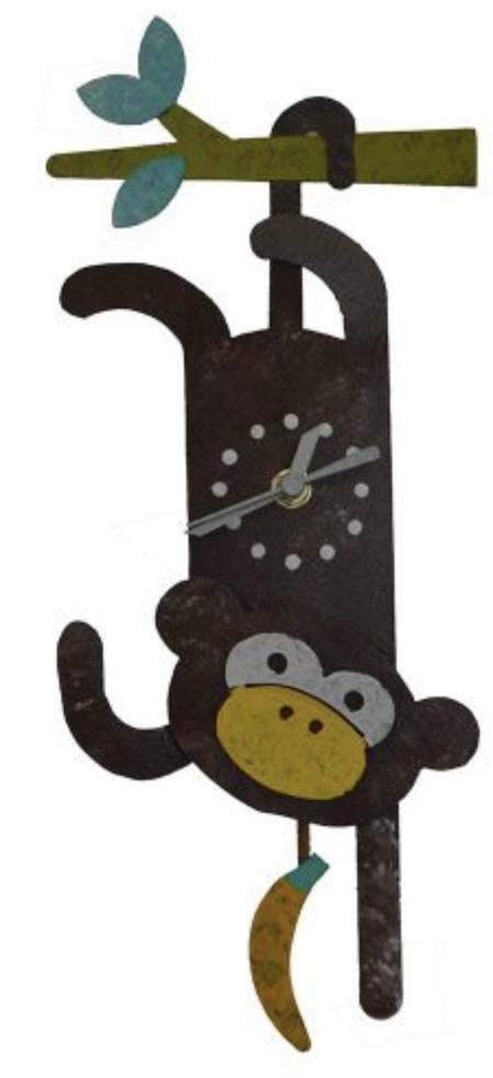 OXIDOS MONKEY CLOCK