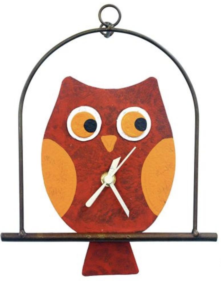 OXIDOS OWL CLOCK