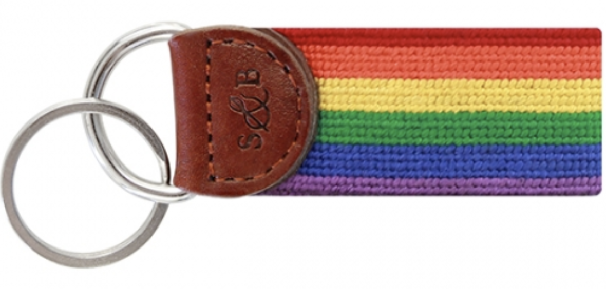 Smathers & Branson Key Fob Rainbow