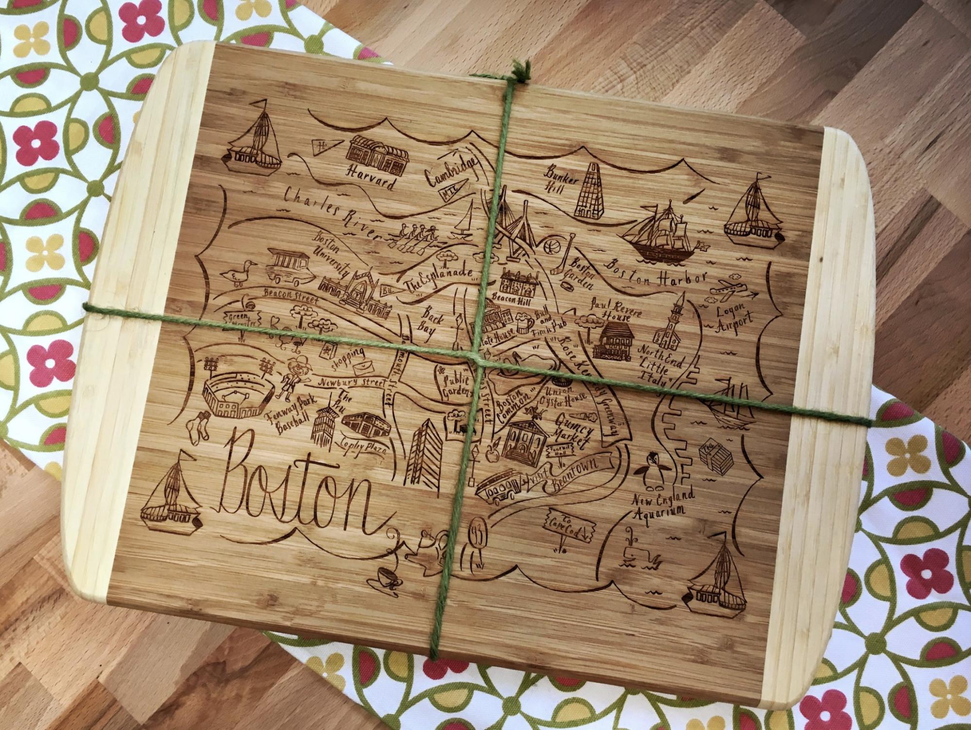 Boston Cutting Board