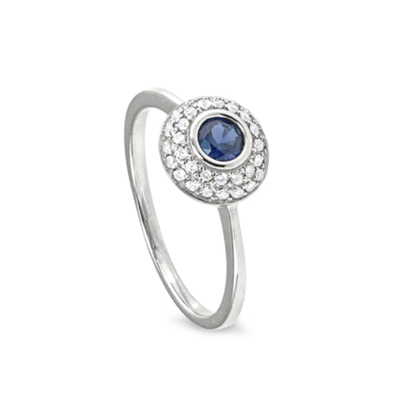 Kelly Waters Sapphire CZ Ring