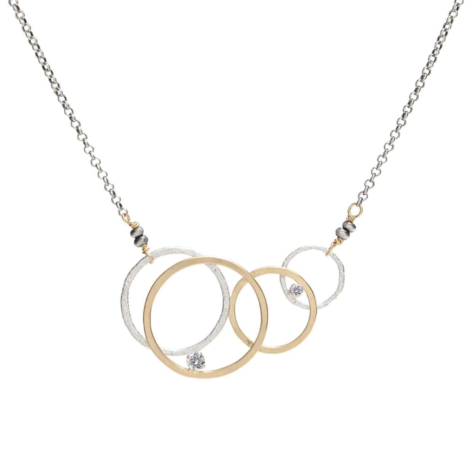 J&I Circles Necklace