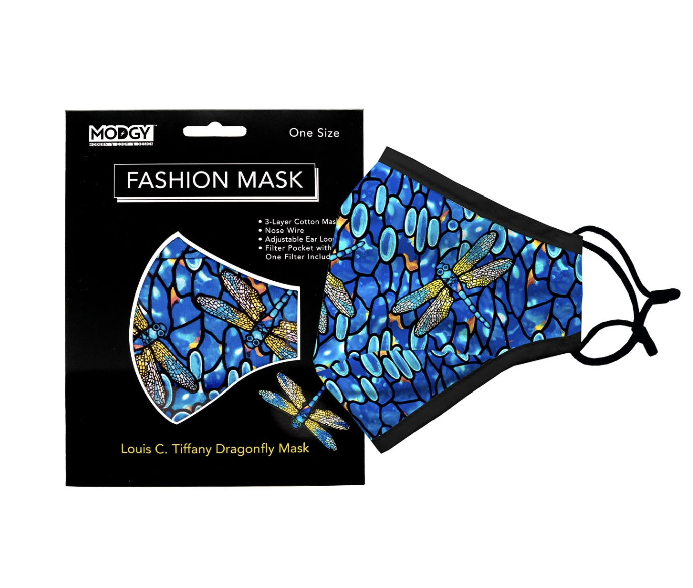 Modgy Face Mask Dragonfly