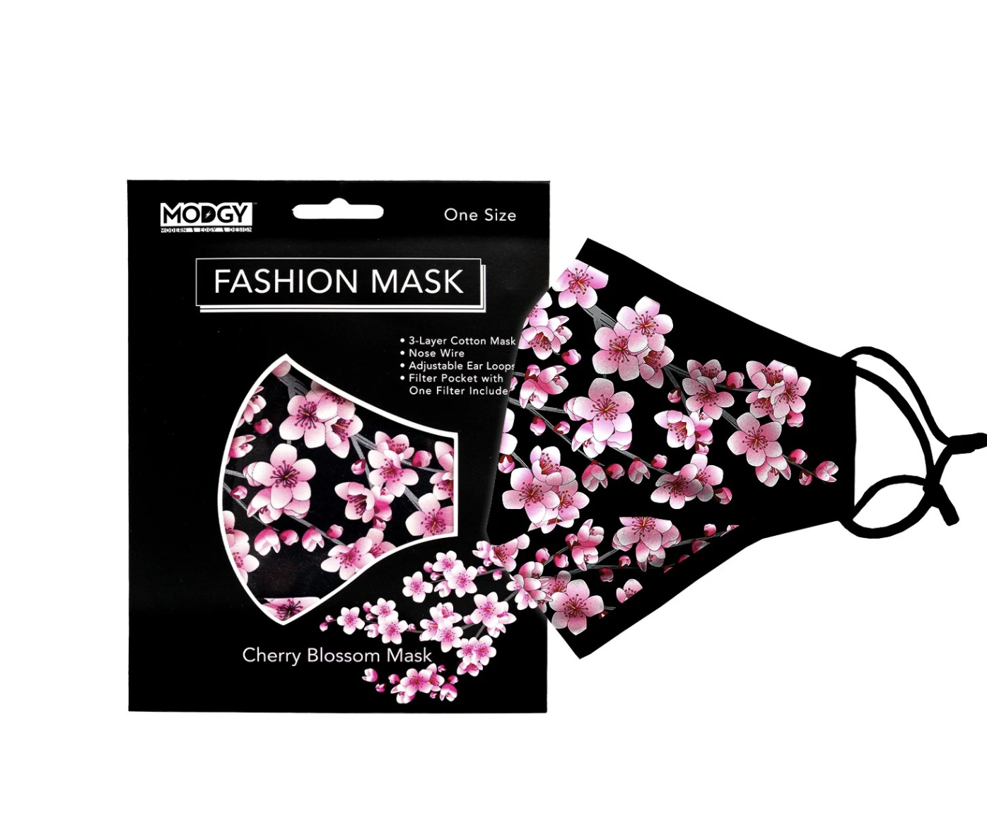 Modgy Face Mask Cherry Blossom