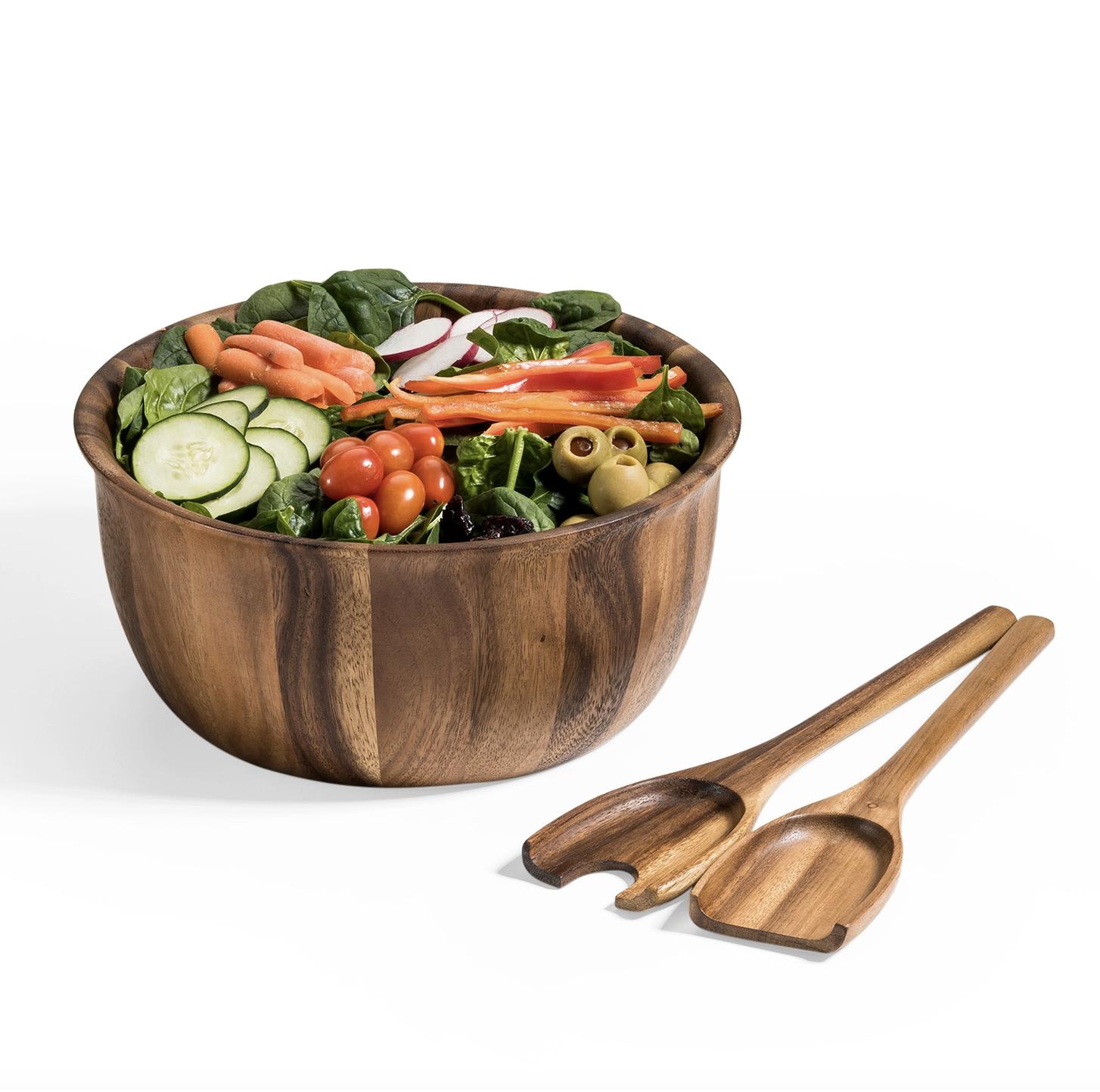 Kalmar Salad Bowl with Servers
