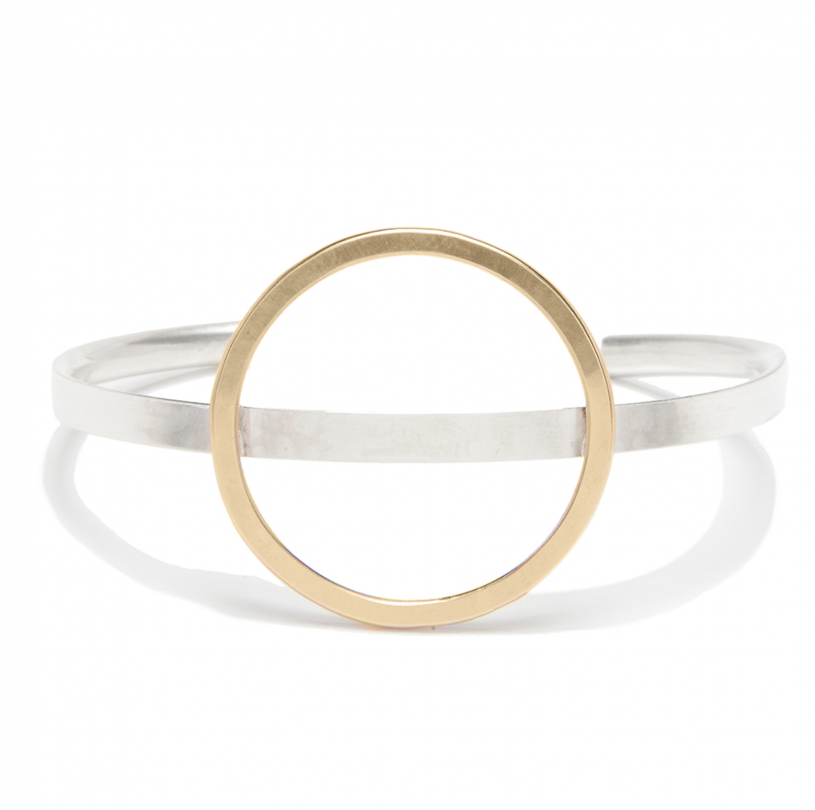 J&I Circle Cuff Bracelet