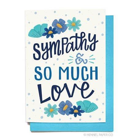 HENNEL SYMPATHY CARD