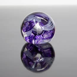 Epiphany Paperweight Circle of Life Violet