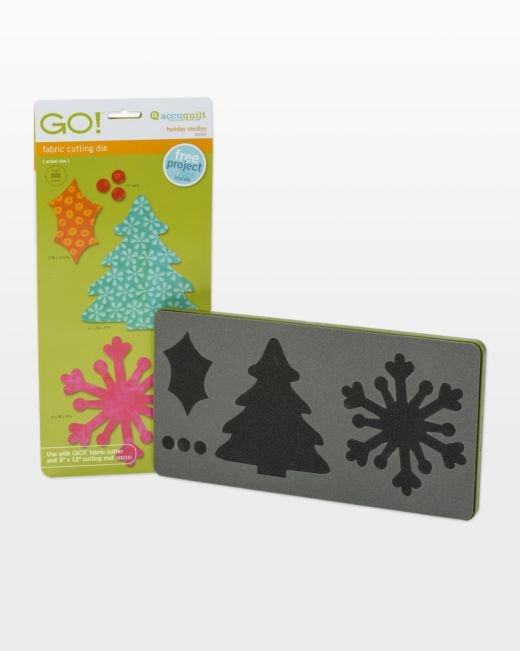GO! Holiday Medley- Accuquilt