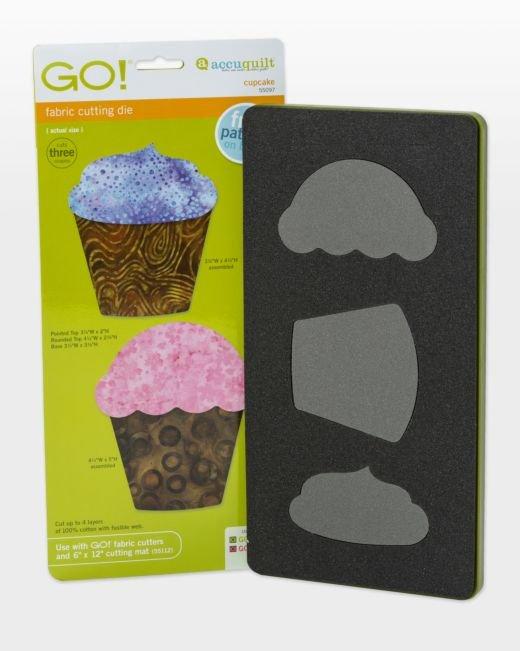 GO! Cupcake - Accuquilt - 55097