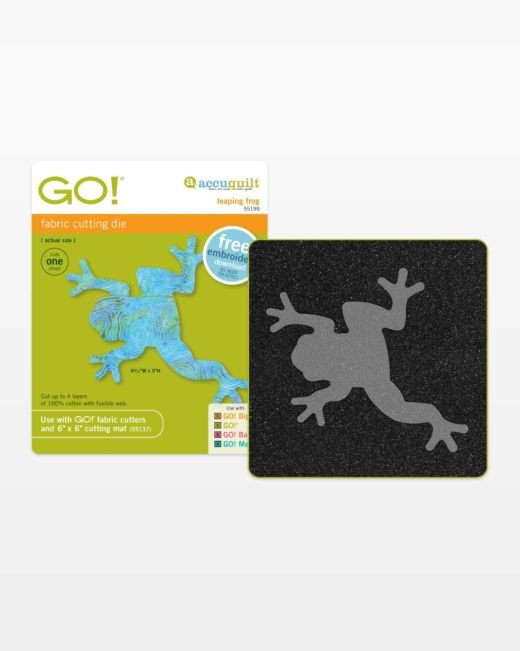 GO! Leaping Frog - Accuquilt