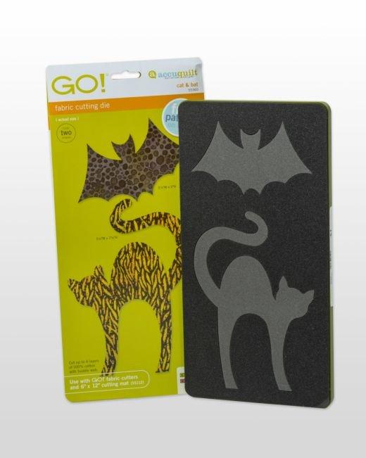 GO! Cat & Bat - Accuquilt - 55365
