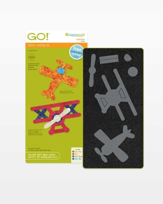 GO! Airplanes - Accuquilt