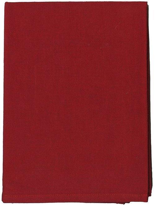 Tea Towel Solid Cranberry 20 x 28
