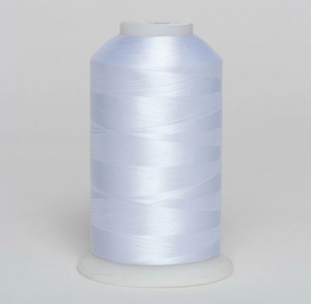 Exquisite Polyester Thread 010 White - 5000 Meters