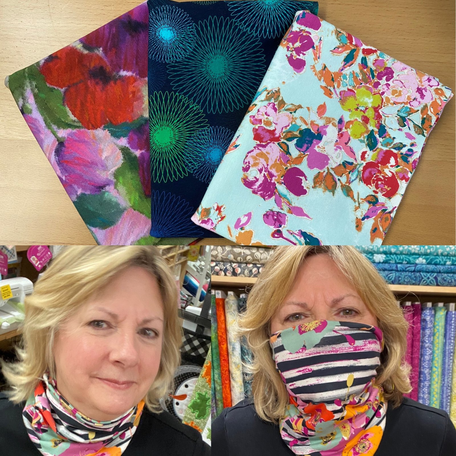 Full Bloom - Gloria Gaiter Face Covering Kit - MORE COMING SOON!
