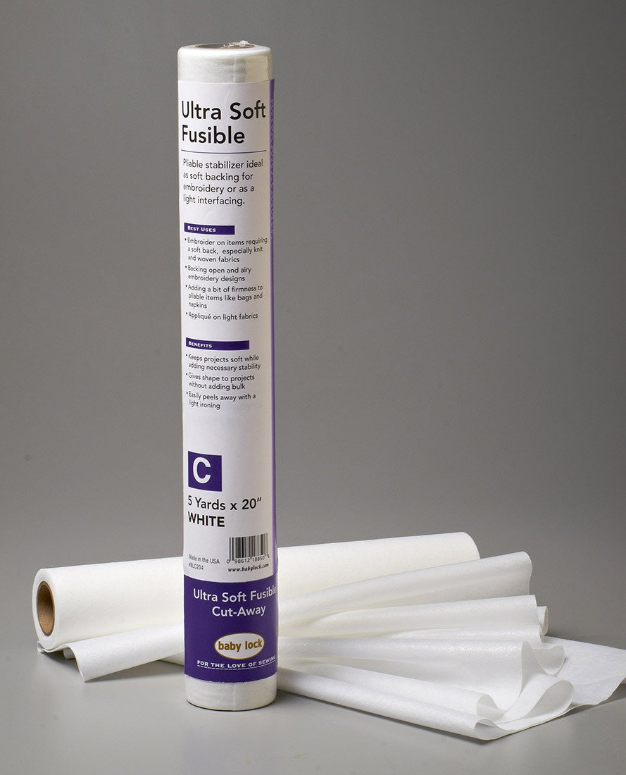 Ultra Soft Fusible 20 x 5 yards  Baby Lock  - Stabilizers Acccessory