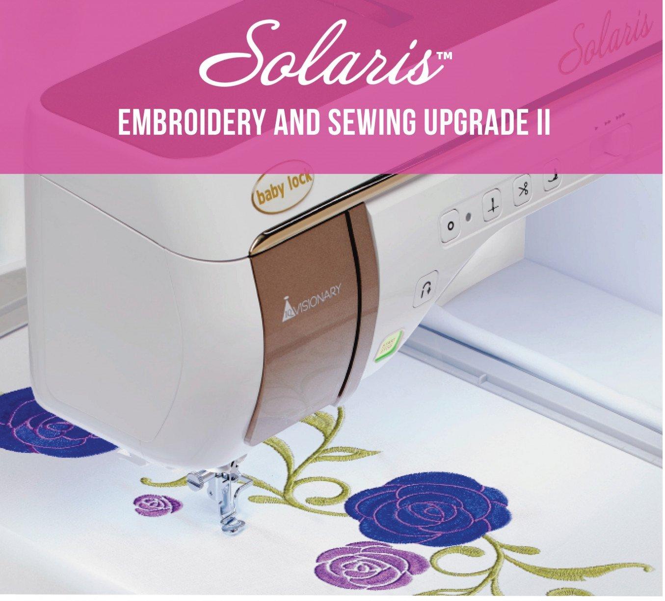 NEW Baby Lock Solaris Upgrade 2