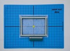 DIME Hoop Mat Non-Slip 16 x 22