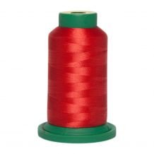 ES528 Flame Red Exquisite Embroidery Thread 1000 Meter Spool