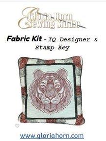 Pillow Kit for Tiger with IQ Designer & Stamp Key